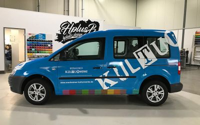 Fahrzeugbeschriftung Kulturwerke