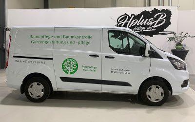 Fahrzeugbeschriftung Baumpflege Sydenham aus Düsseldorf