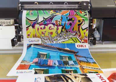 Ausdruck Digitaldruck von HplusB Design für Monheim, Köln und Düsseldorf
