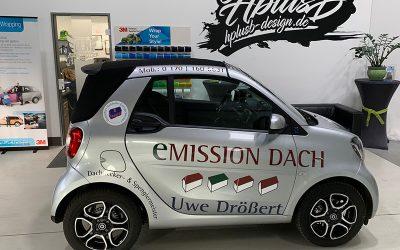Fahrzeugbeschriftung Drößert Dach – Uwe Drößert
