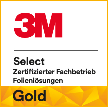 HplusB Design Zertifikat 3M Select Graphic Provider Gold