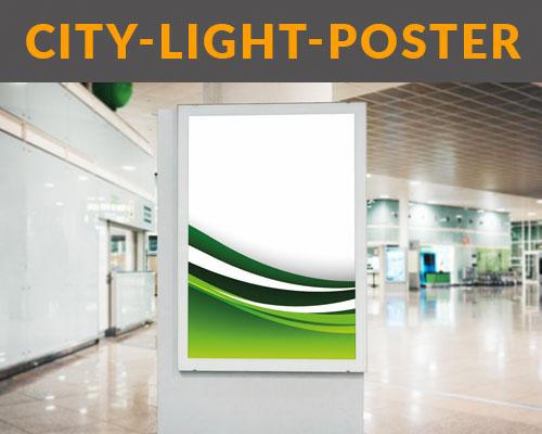 City-Light-Poster drucken lassen von HplusB Design im Digitaldruck