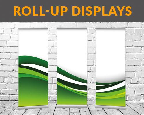 Roll-Up Displays im Digitaldruck drucken lassen